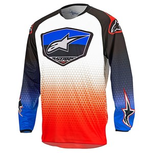Alpinestars 17 Racer Supermatic Youth Jersey